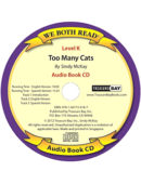 Audio Book-Too Many Cats (We Both Read-Bilingual)
