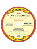 Audio Book-The Well-Mannered Monster (We Both Read) - CD