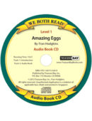 Audio Book-Amazing Eggs (We Both Read) CD