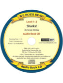 Audio-Sharks! (We Both Read) CD