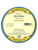 Audio Book-We All Sleep (We Both Read) CD