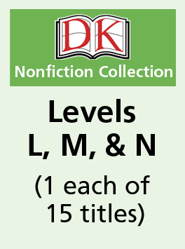 DK Readers – Levels L, M, & N (1 each of 15 titles)