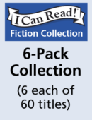 6-Pack I Can Read Collection (6 each of 60 titles)
