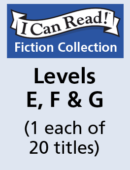 I Can Read – Levels E, F & G (1 each of 20 titles)