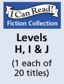 I Can Read – Levels H, I & J (1 each of 20 titles)
