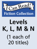 I Can Read – Levels K, L, M & N (1 each of 20 titles)