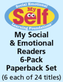 6-Pack My Social & Emotional Readers (6 each of 24 titles)