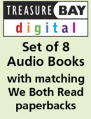 Audio Books & Matching Paperbacks Set (8 Titles)