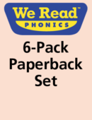 Six-Pack of We Read Phonics Series (6 each of 21 titles) - Paperback