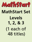 MathStart Set – Levels 1, 2, & 3 – (1 each of 48 titles)