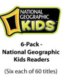 6-Pack-National Geographic Kids Readers - Paperback Collection - (6 each of 60 titles)