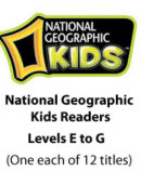 National Geographic Kids Readers - Levels E, F, & G (12 titles) - Paperback