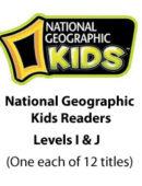 National Geographic Kids Readers - Levels I & J (12 titles) - Paperback