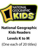 National Geographic Kids Readers - Levels K, L, & M (20 titles) - Paperback