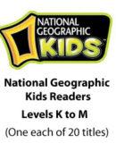 National Geographic Kids Readers - Levels K, L, & M (20 titles) - Paperback