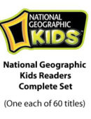 National Geographic Kids Readers - Paperback Collection - (1 each of 60 titles)