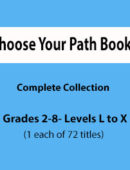 Choose Your Path -Complete Collection - Paperback Set (1 each of 72 titles)