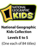 National Geographic Kids Readers - Paperback Collection - (1 each of 84 titles)