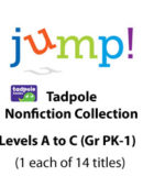 Jump -- Tadpole Collection - Levels A-C (14 Titles) - Paperback