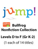 Jump -- Bullfrog Collection - Levels D-F (14 Titles) - Paperback