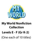 My World - Levels E-F
