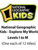 National Geographic Kids Explore My World - Levels I-M (12 titles) - Paperback