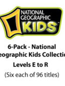 6-Pack-National Geographic Kids Collection - Paperback - (6 each of 96 titles)