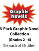6-Pack Graphic Novel Collection - Gr. 2-6 (216 titles)