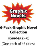 6-Pack Graphic Novel Collection - Gr. 2-6 (276 titles)