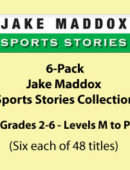 6-Pack - Jake Maddox Sports Stories Collection (288 Titles)