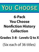 6-Pack - You Choose - Nonfiction History Collection (216 Titles)