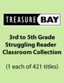 3rd to 5th Grade Struggling Reader Collection (421 titles)