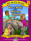 Ben and Becky on an African Safari