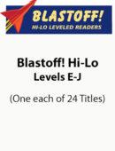 Blastoff! Hi-Lo Nonfiction - Levels E-J (1 each of 24 titles)