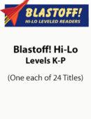 Blastoff! Hi-Lo Nonfiction - Levels K-P (1 each of 24 titles)