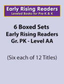 Boxed Set of Early Rising Readers-Grade PK (6 sets of 12 titles each)