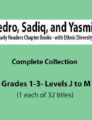 Pedro, Sadiq, and Yasmin Collection (1 each of 32 Titles)